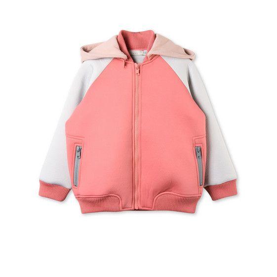 핑크 Buck 재킷 - Stella Mccartney Kids Official Online Store - 가을 겨울 2016 - 2017