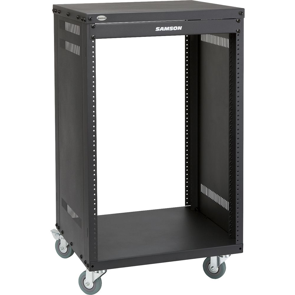 Best Buy Samson Universal Rack Stand Black Srk16 Shed Storage Cool Things To Buy Home Network