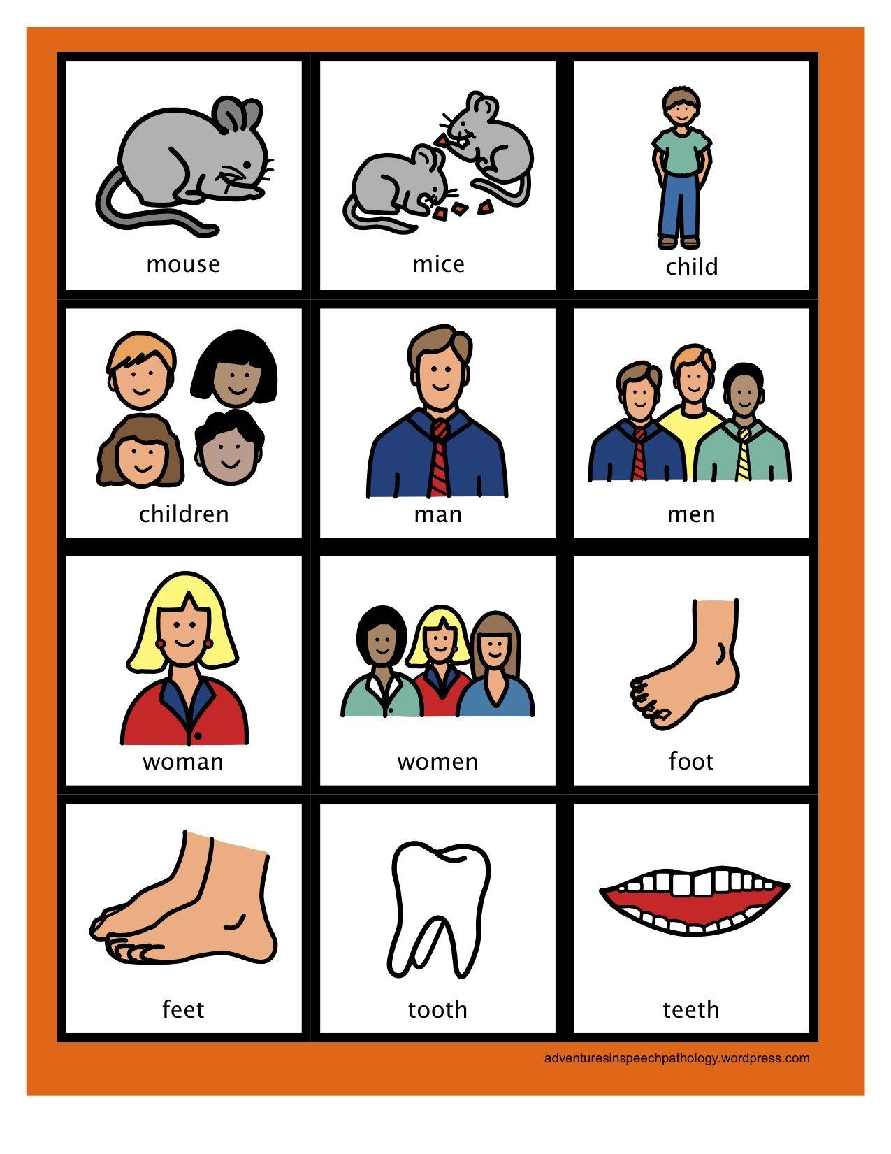 Irregular Plural Noun Cards Freebie Irregular Plural Nouns Irregular Plurals Plurals [ 1651 x 1275 Pixel ]