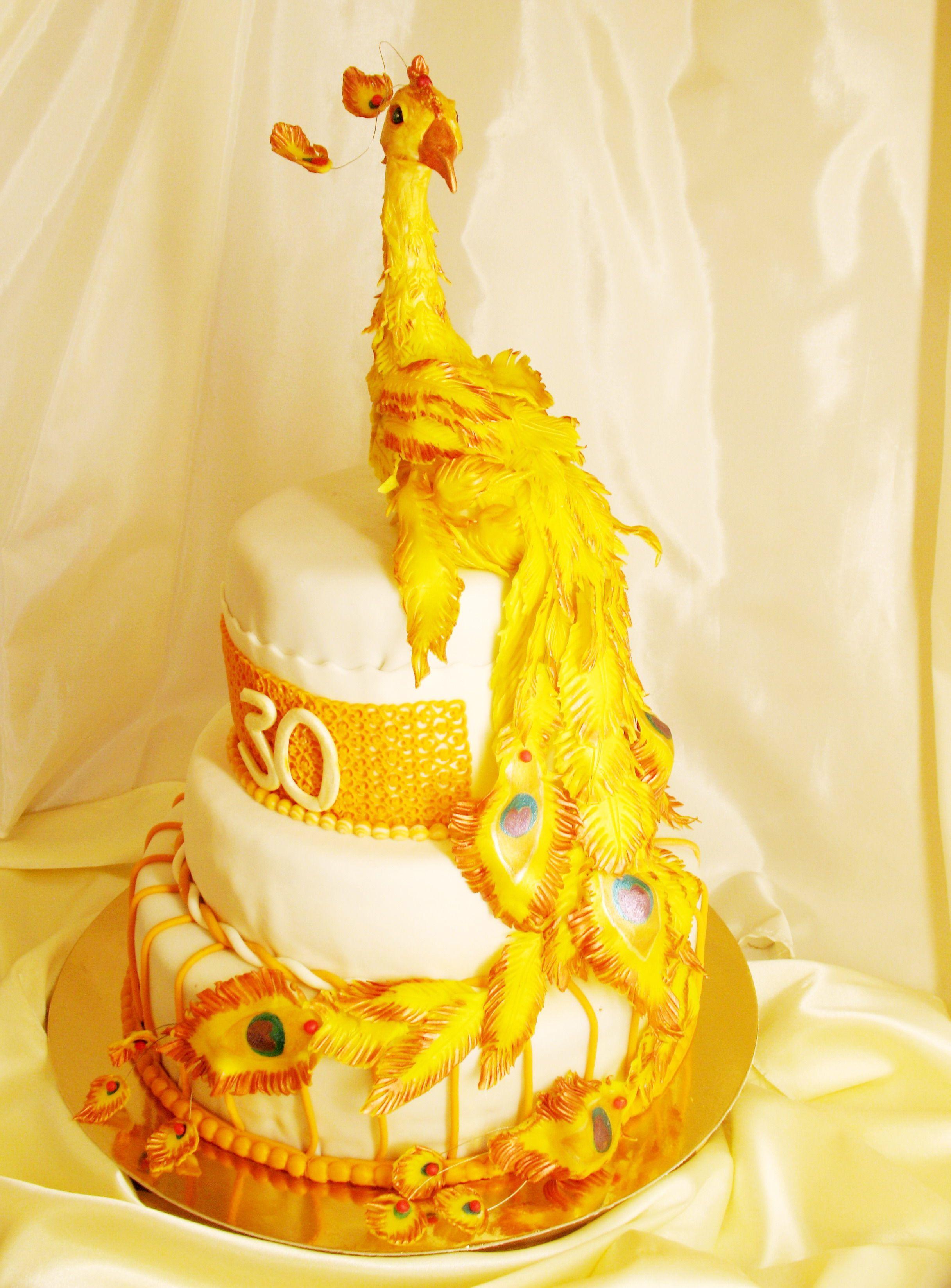 Phoenix cake. Beautiful   Cake Decorating Ideas   Pinterest ...