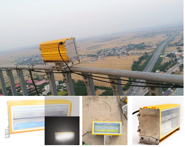 200000cd Icao High Intensity Aircraft Warning Light For High Voltage Overhead Transmission Line Power Tower Sol In 2020 Warning Lights Transmission Line High Intensity
