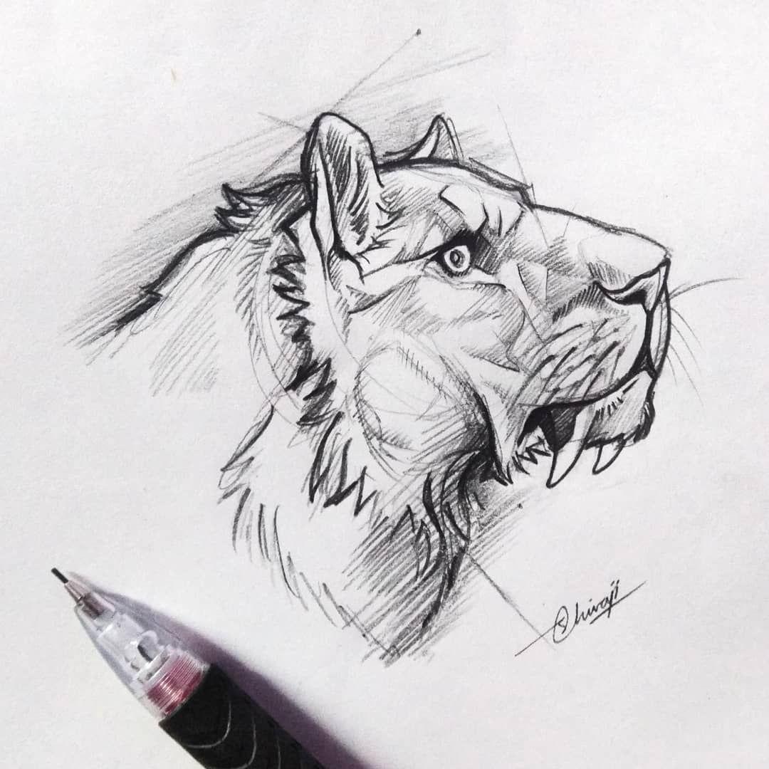 Instagram Animal Tattoo Art