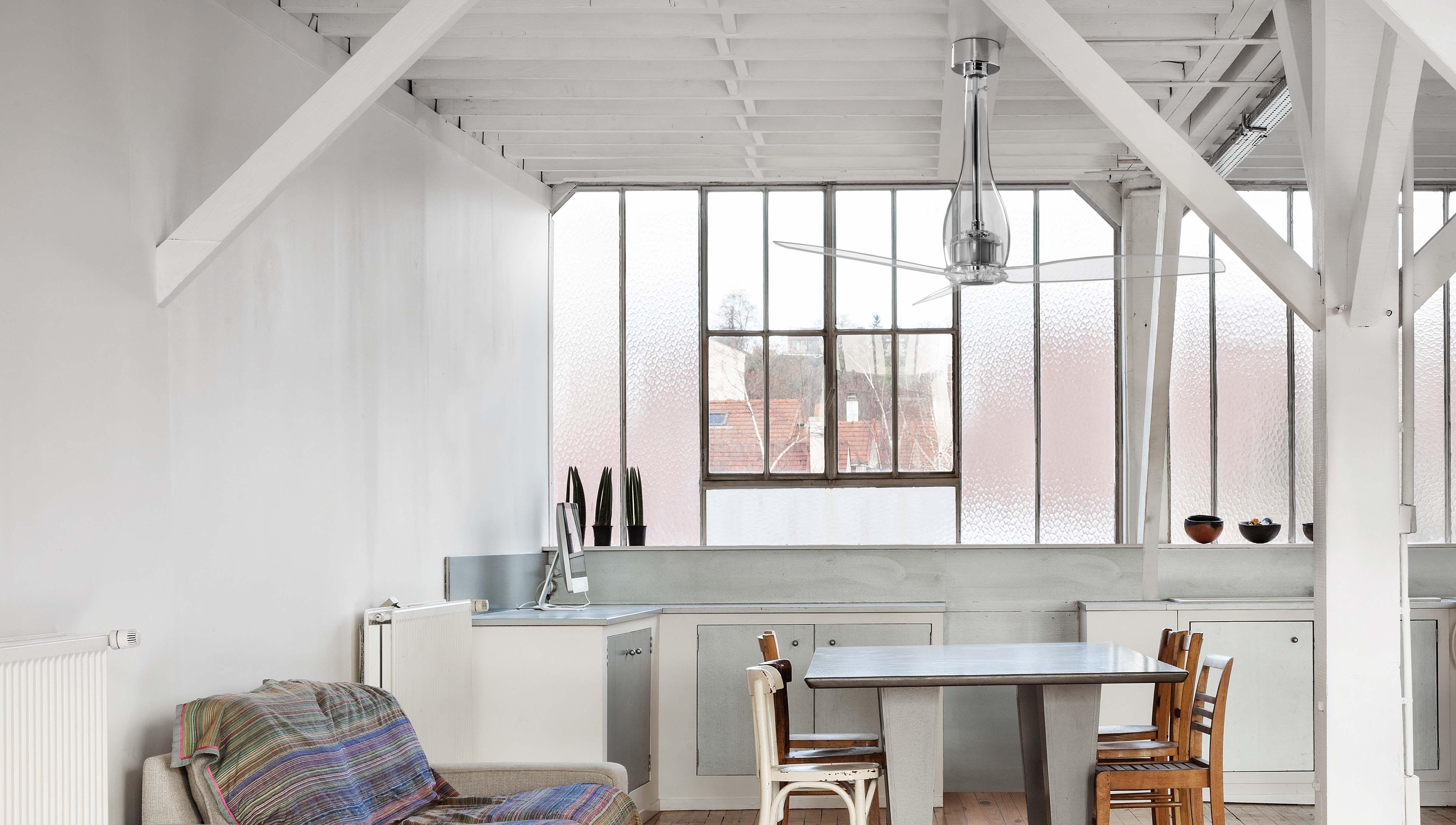 Les Plus Jolis Ventilateurs De Plafond Notre Selection Ventilateur Plafond Plafond Design Et Plafond
