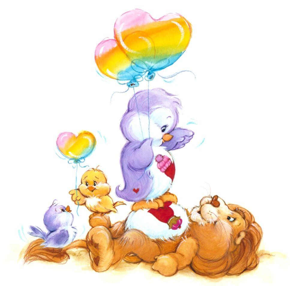 Care Bears Cousins! Cozy Heart Penguin and Brave Heart Lion