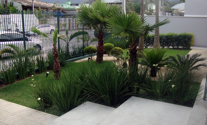 Jardim de casas modernas pesquisa google paisagismo for Jardin pequeno moderno