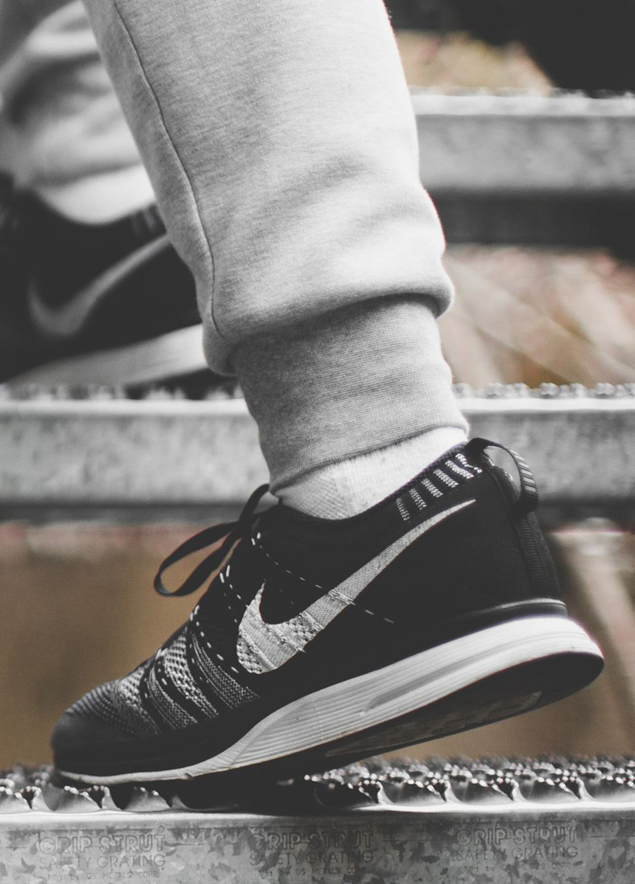 7426fa891ea Nike Flyknit Trainer Black White (by David Huynh)