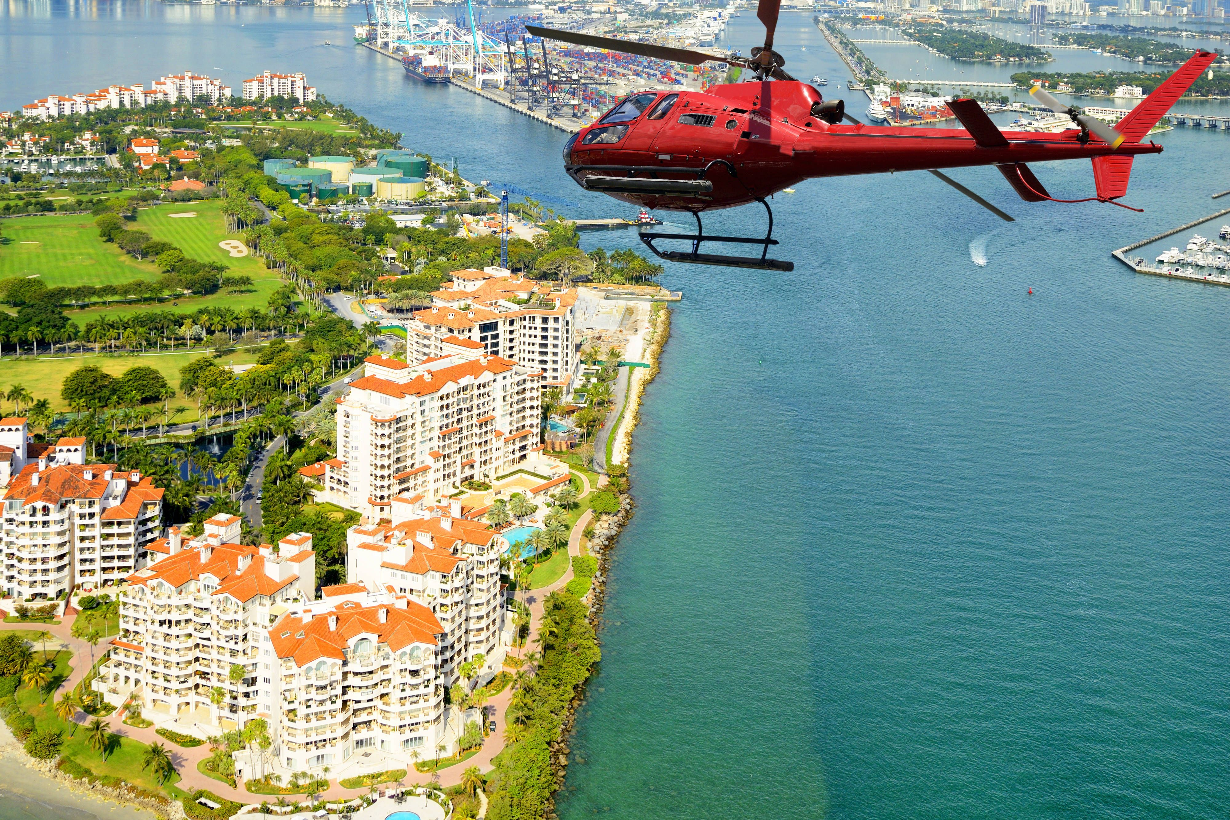 Courtyard Miami Coconut Grove Helicopter Tour Over Miami