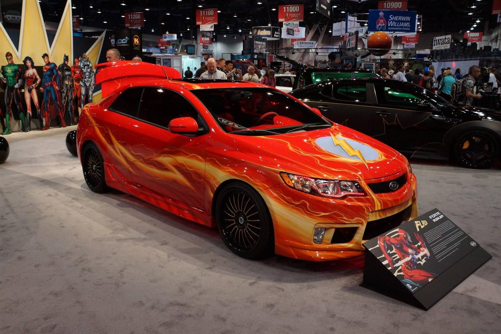 Kia Forte Dc Comics Flash Edition Kia Kia Forte Dc Comics