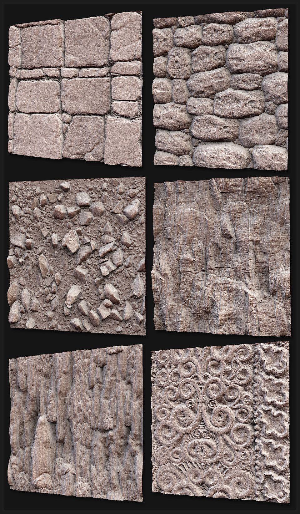 Wood Texture Zbrush Alpha - Exploring Mars