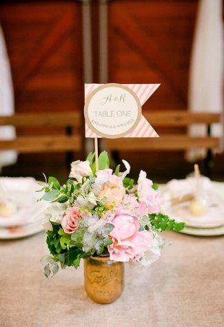 20 diy wedding table number ideas inspirao 20 diy wedding table number ideas junglespirit Choice Image