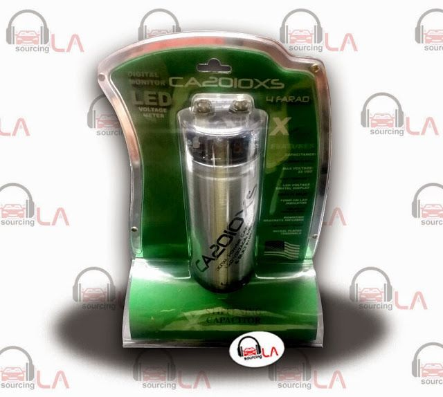 Sourcing-LA: CA2010XS - Xpress 4 Farad Capacitor Grey with LED