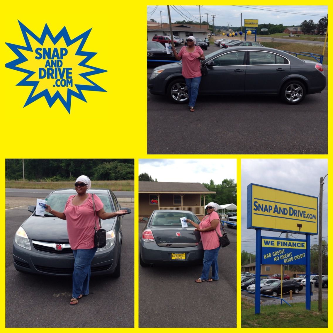 CONGRAT's to Regina Jones ‼️On the purchase of her Saturn Ion ...We thank you for your purchase Regina Jones‼️. Apply now @ www.SnapAndDrive.com to get you one... ✅✅✅EVERYBODY IS APPROVED✅✅✅. IN A SNAP #snapanddrive #getapproved