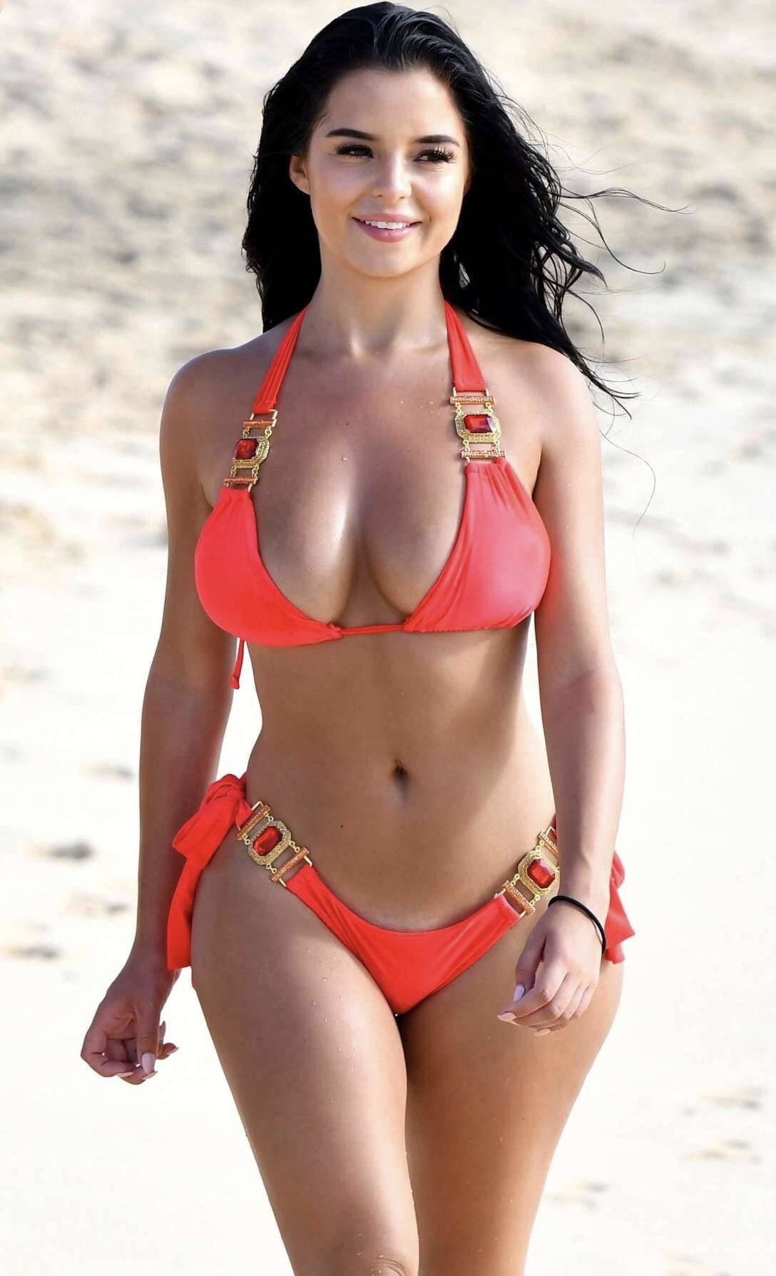 3efcf80bb7083 Demi Rose Mawby Holly Peers, Bikini Babes, Bikini Girls, Thong Bikini,  Swimsuits