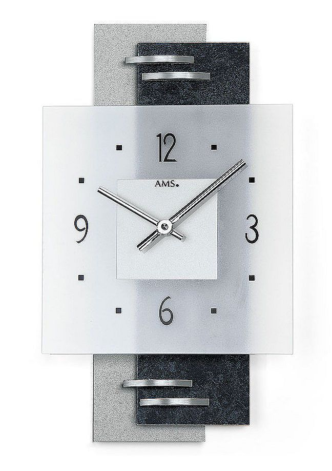 Quartz-Wanduhr, AMS Clocks - wanduhren wohnzimmer modern