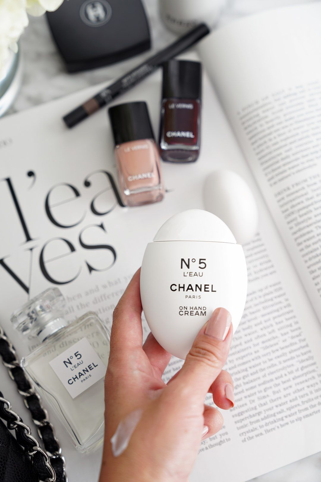 Chanel No 5 L Eau On Hand Cream Review Hand Cream Hand Cream