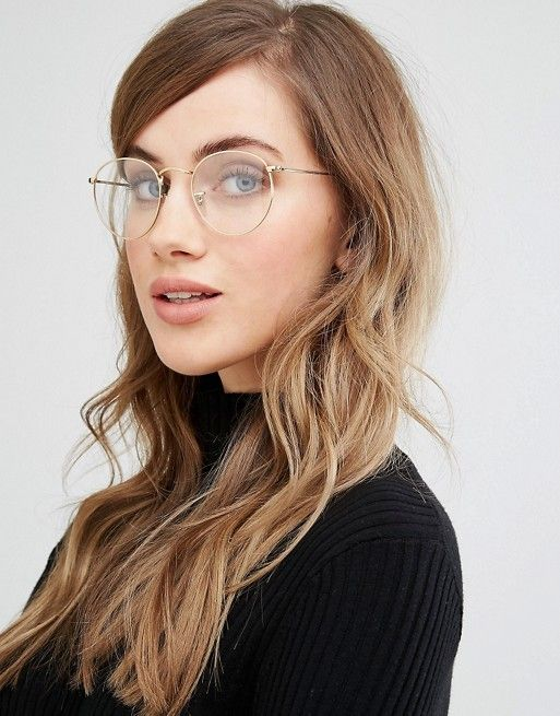 573d80a230ab low cost ray ban aviator clear 15bc1 fedfe; get image result for rayban  clear glasses fashion online womens fashion fashion beauty metal df6d5 678d7