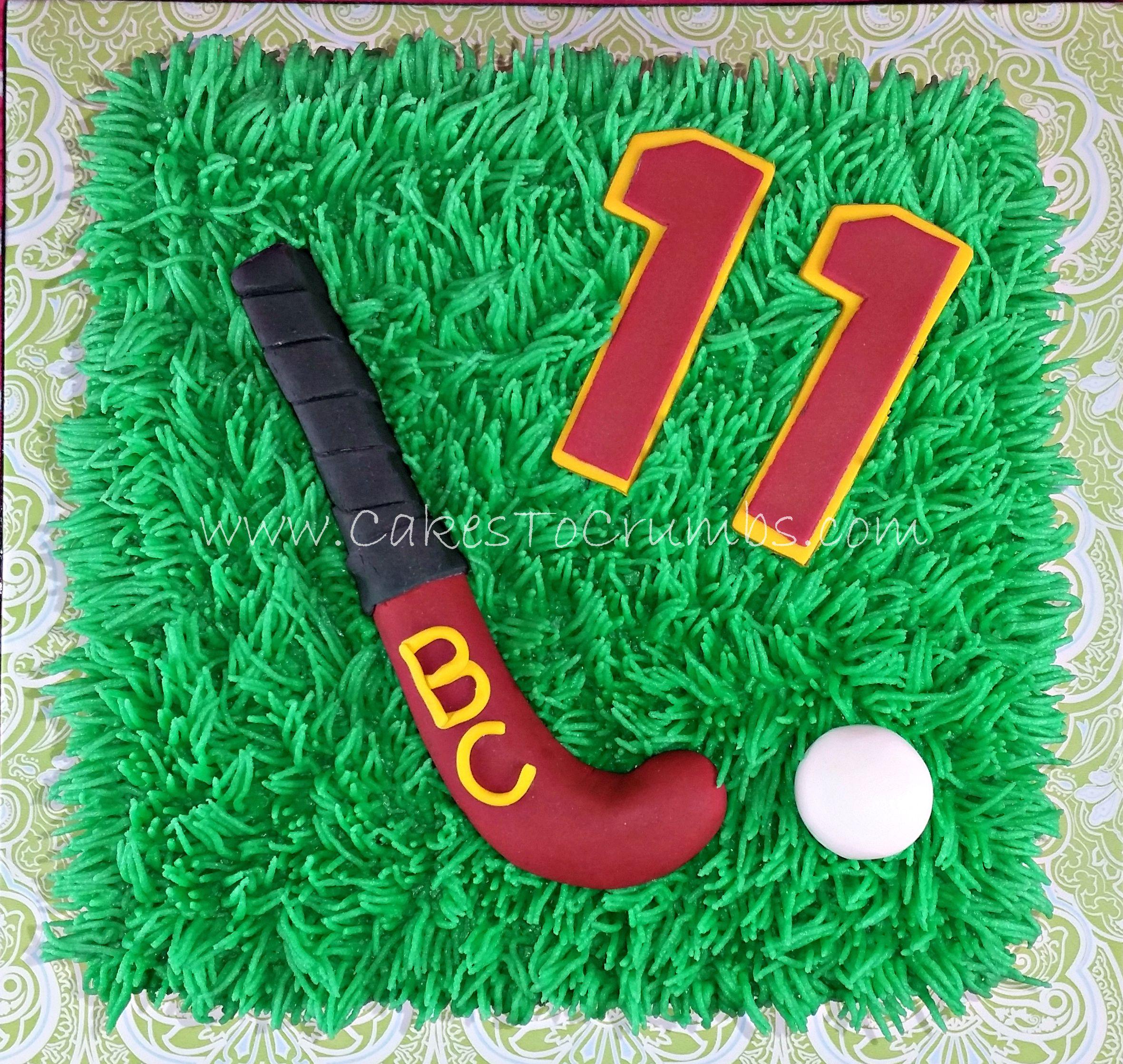 Field Hockey Cake Hockey Cakes Hockey Birthday Cake Hockey Birthday