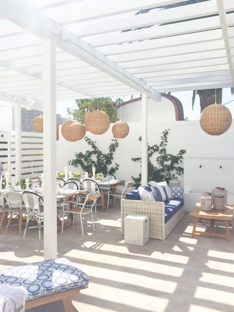 The Outdoor Patio At Serena U0026 Lily Newport Beach Design Shop | Image Via A  Thoughtful