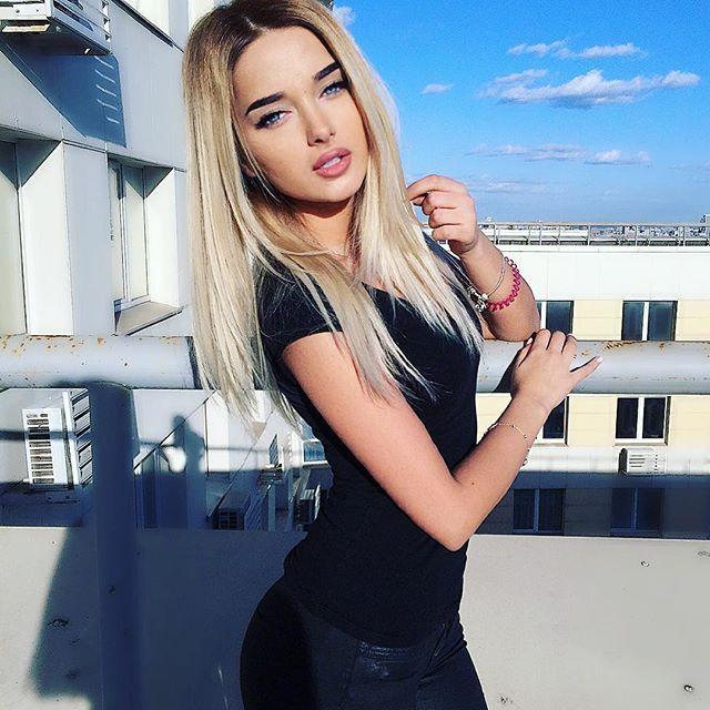 Russian Blonde Teen Amateur