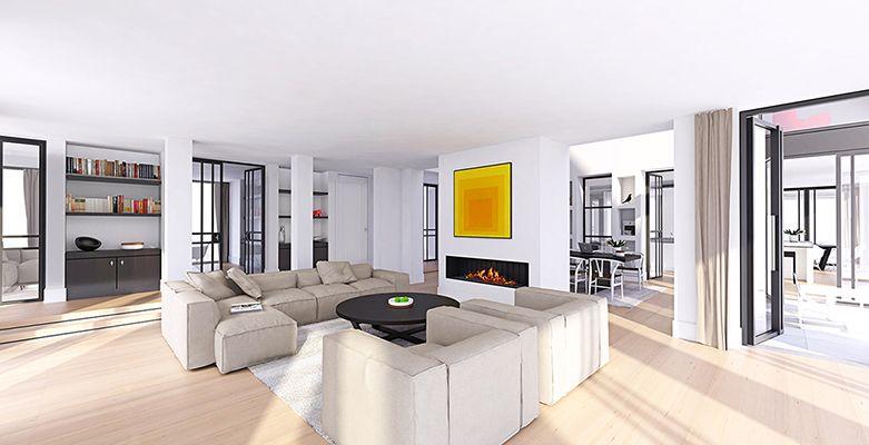 Modern landelijk villa woning huis architect zelfbouw for Strak interieur