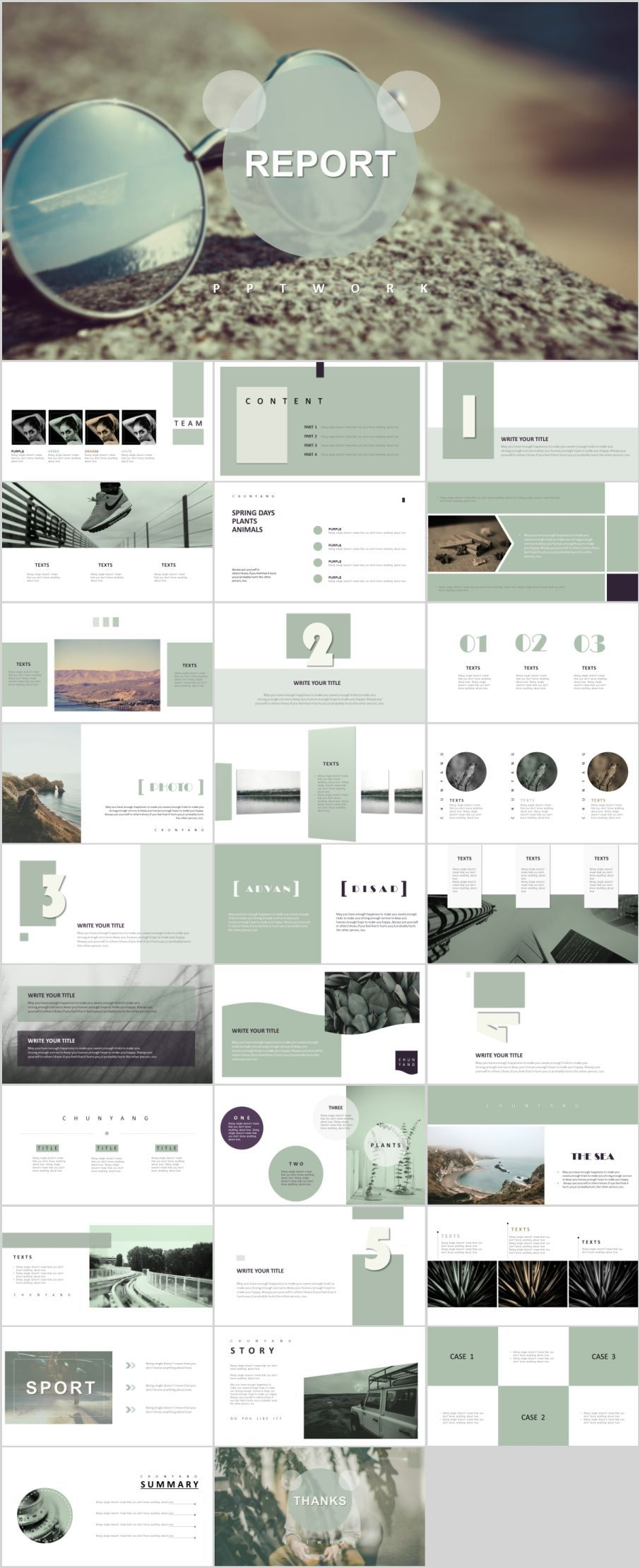 30 magazine style PowerPoint templatesThe highest quality PowerPoint Templates and Keynote Templates download