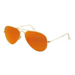 43a5f0112435d ... tamanho médio 58 mm 28369 cf995  spain Óculos de sol rayban rb 3025 aviador  laranja vermelho espelhado 761c7 cbeb4