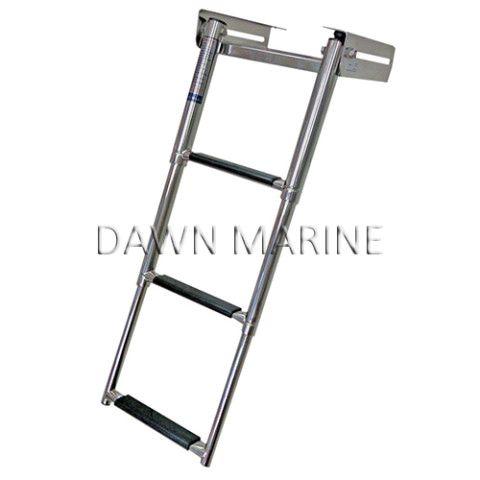 Aisi 316 Stainless Steel 3 Step Telescopic Swim Ladder Dawn