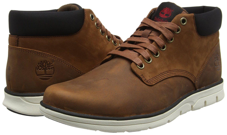 timberland men's bradstreet leather sensorflex chukka sneakers