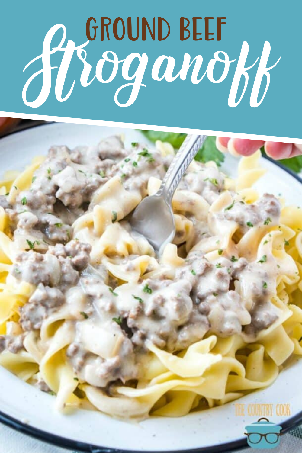 Ground Beef Stroganoff Video The Country Cook Recipe In 2020 Ground Beef Stroganoff Stroganoff Beef Dinner