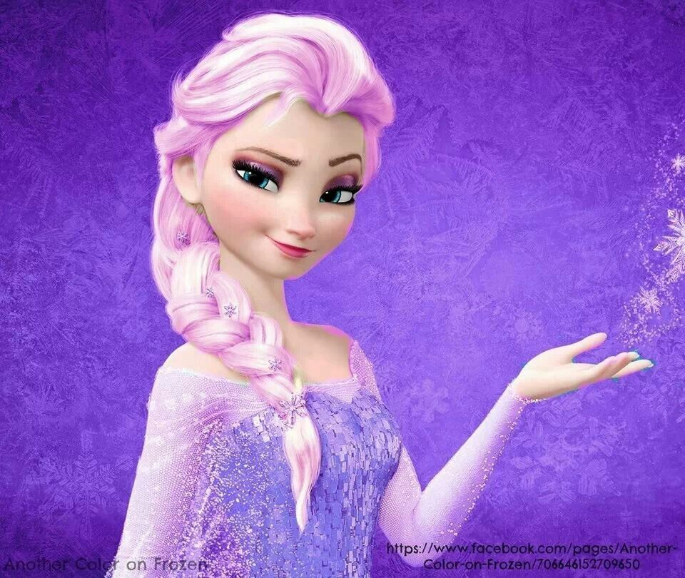 purple Elsa | Frozen ;) | Pinterest