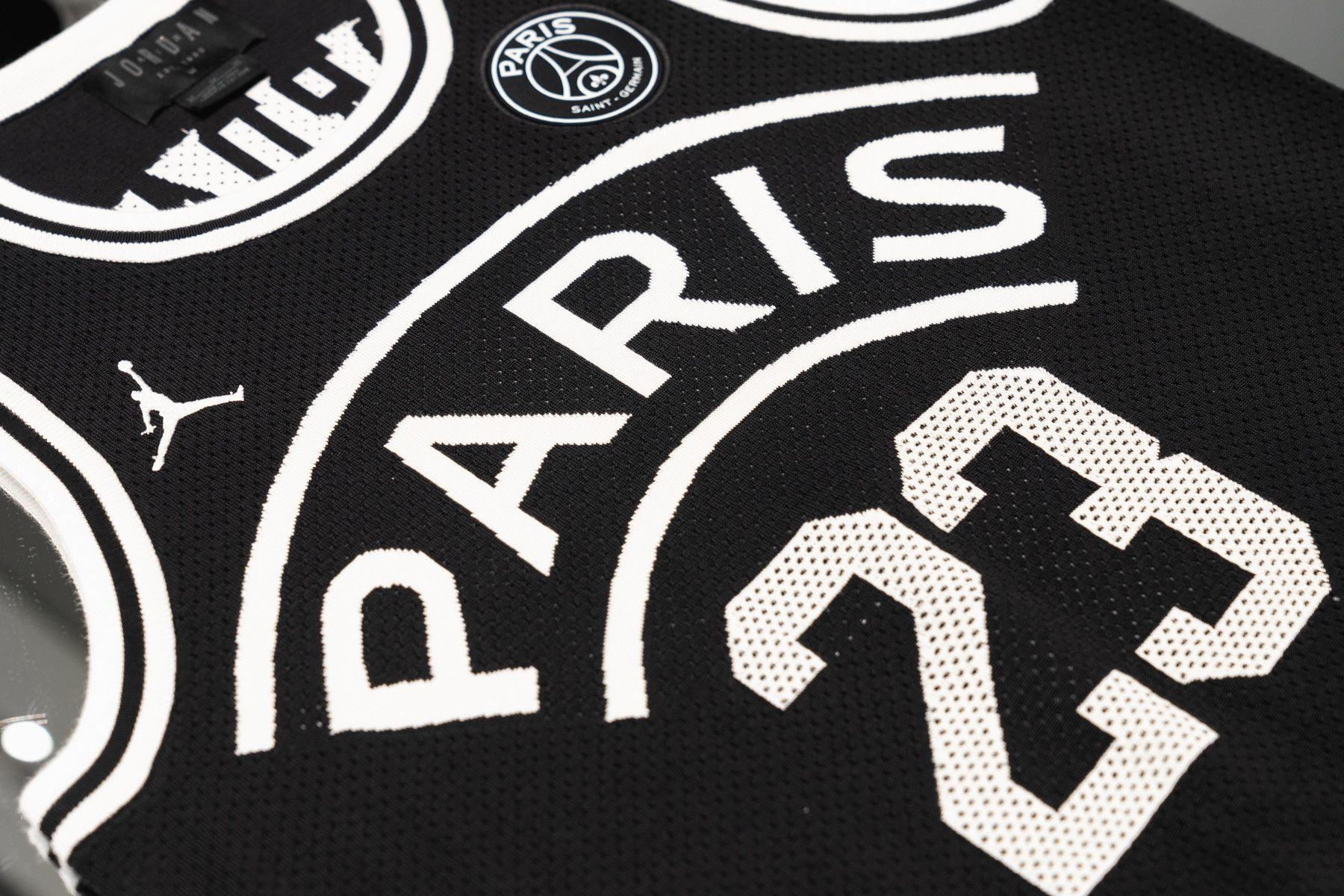 0ec733aede960c jordan brand paris saint germain collection exclusive look 2018 2019  football boots sneakers apparel air jordan 5 air jordan 1