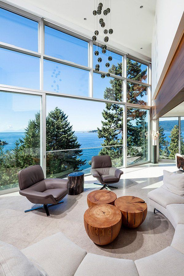 Sensational modern waterfront property in West Vancouver