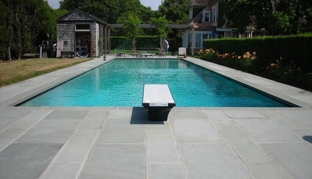 pool deck limestone