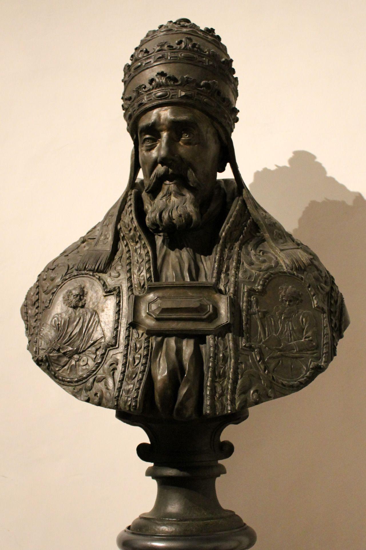 Bust Of Pope Urban Viii By Bernini 1644 As Maffeo