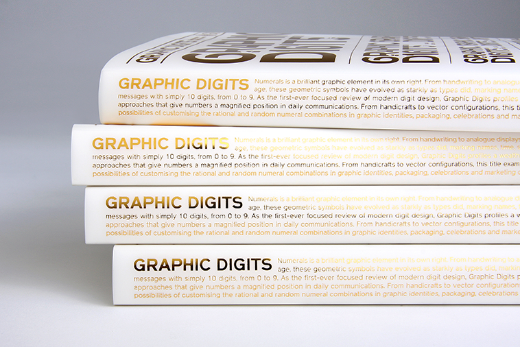 Graphic Digits - New typographic approach to numerals from viction:ary.