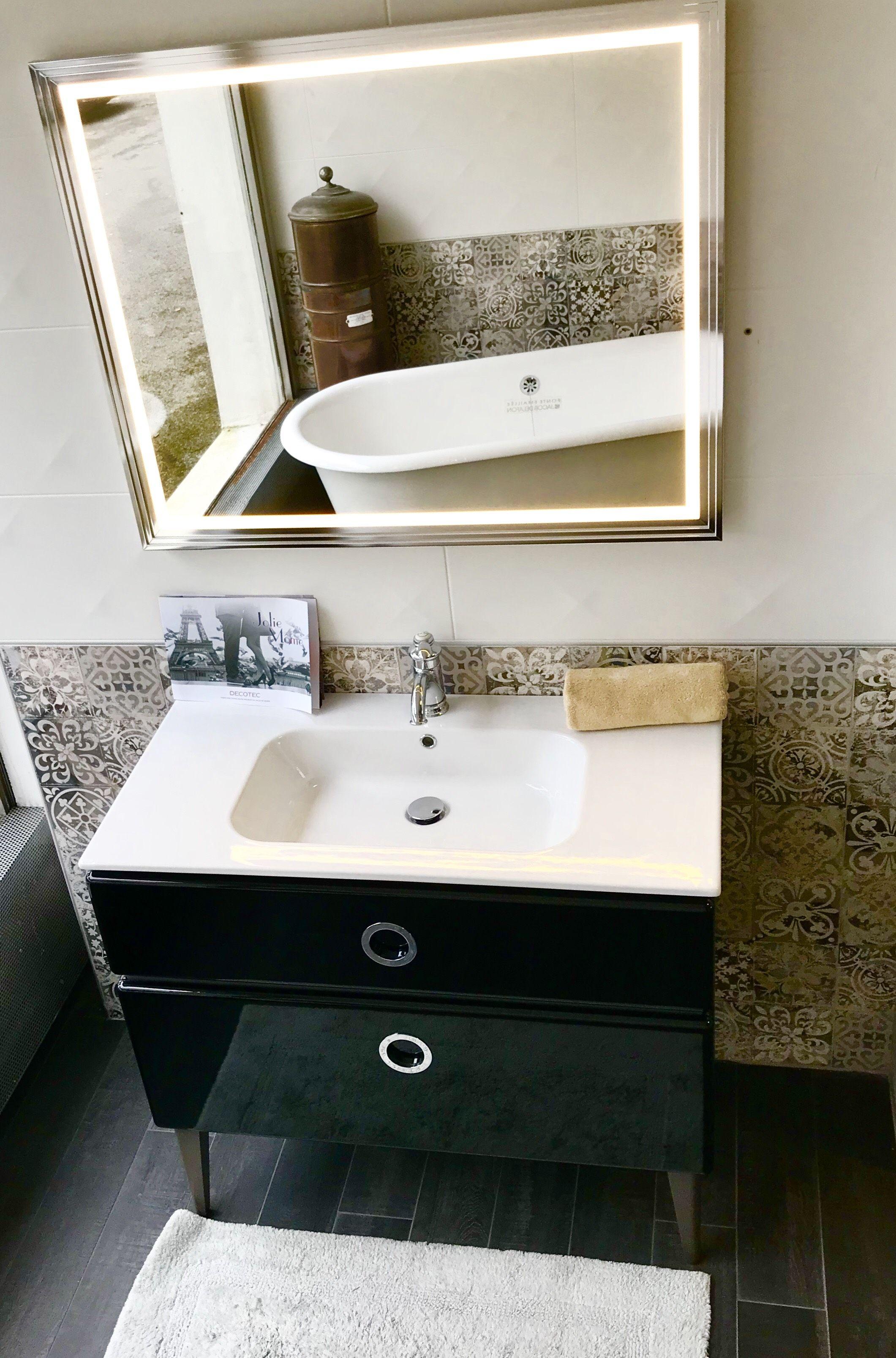 Une ambiance retro chic dans votre salle de bains