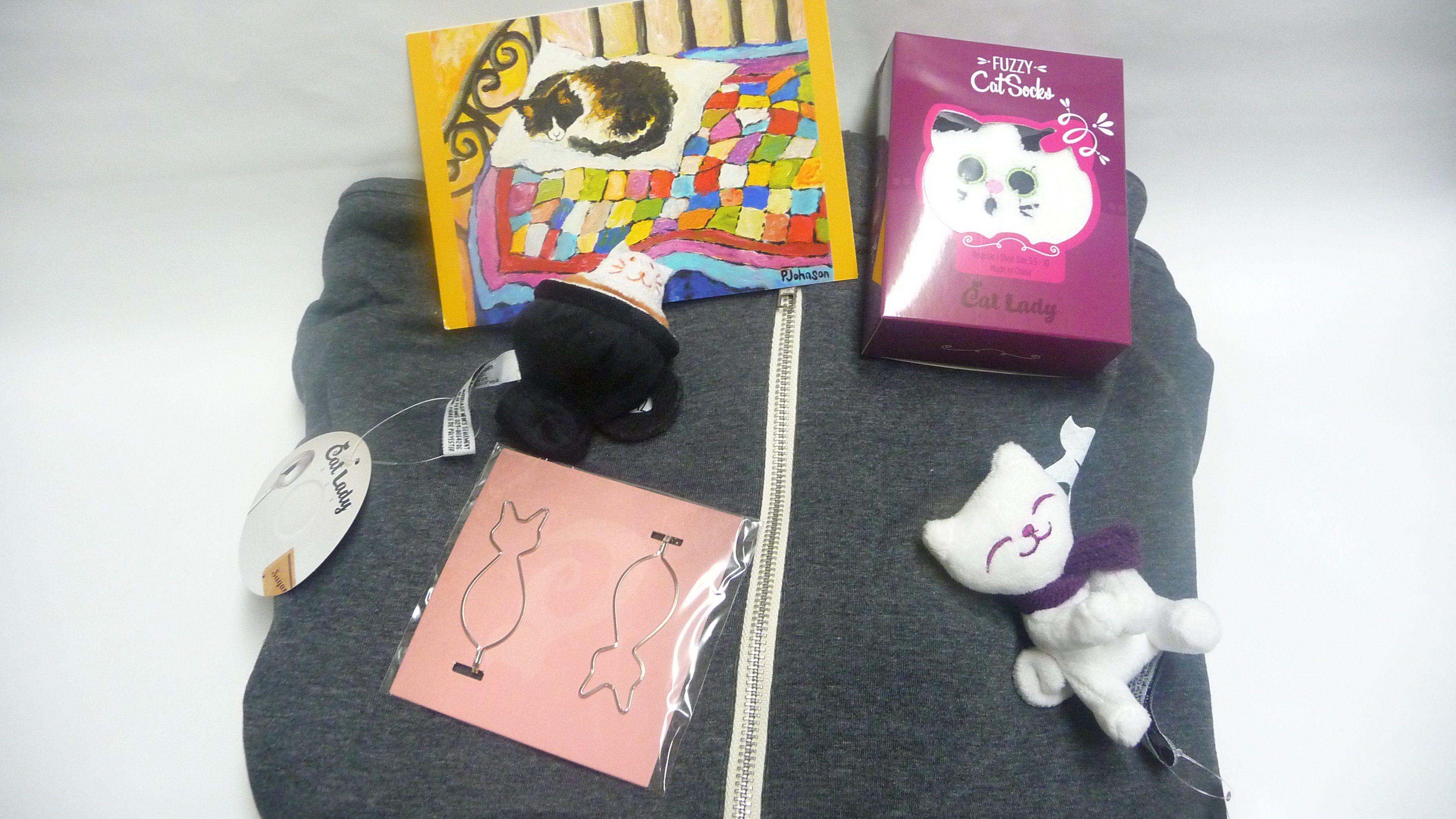 Cat Lady Box Subscription boxes, Cat lady, Box