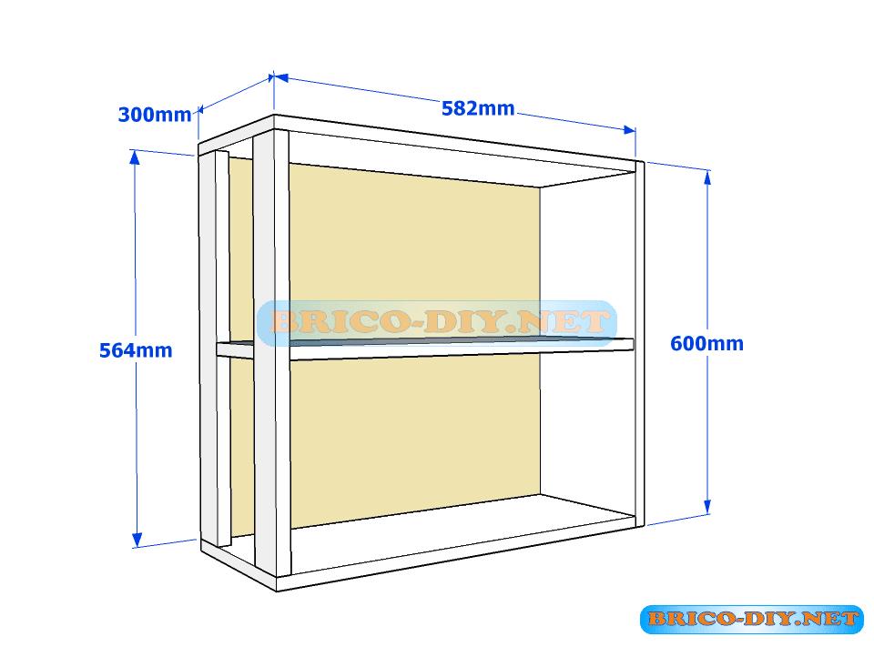 23 Como hacer una alacena de madera planos