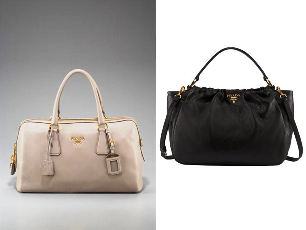 Prada Cervo Bag is a bag that is very elegant and also one of the latest  collection is very special with a beautiful color Prada Cervo Bag is made  of ...