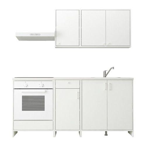 FYNDIG Kuchyně IKEA Rám skříňky, dvířka a čela zásuvky mají povrch ...