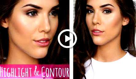 like highlight and contour for beginners makeup in 2020