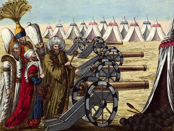 Ottoman Cannons 1788 الدولة العلية العثمانية Ottoman Empire