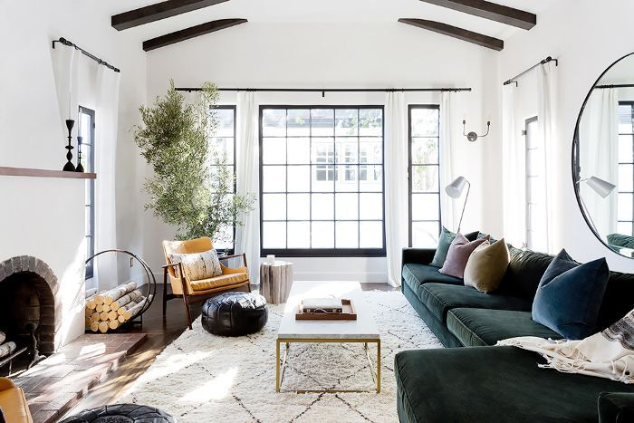 Inside A Gorgeous Cali Cool Home That Will Make Your Jaw Drop Living Room Decor Apartment Living Room Inspiration Spanish Style Home