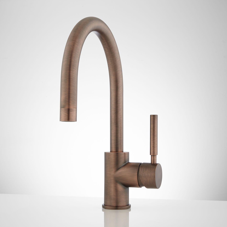 Casimir Single Hole Bathroom Faucet With Pop Up Drain