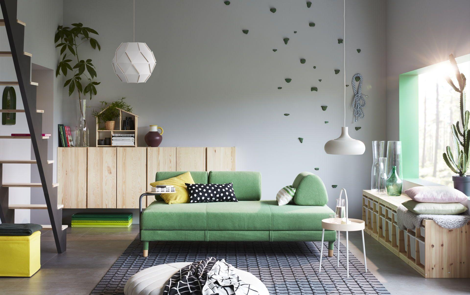 FLOTTEBO Slaapbank onderstel, Lysed groen | Pinterest