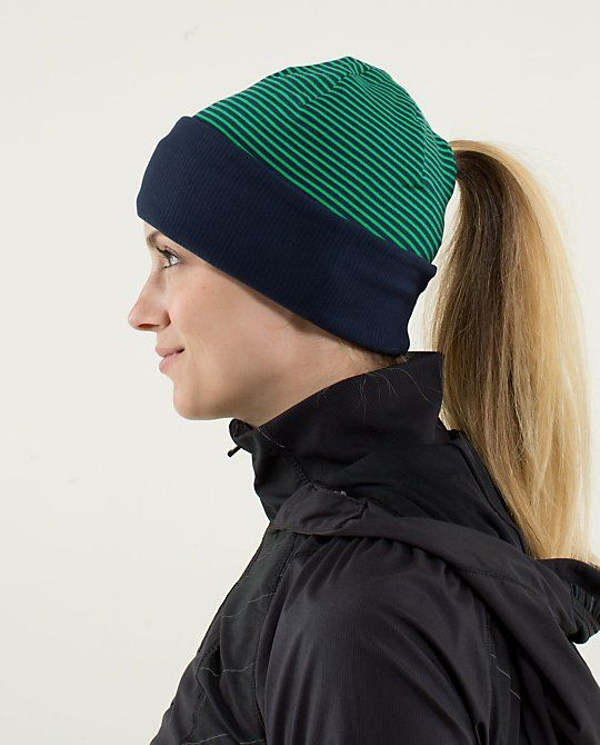 0d83c880708 Run With Me Toque - ponytail hole