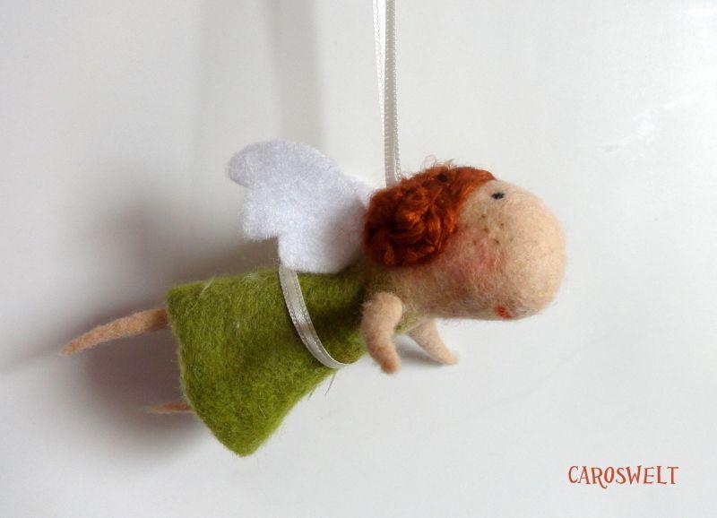 Bridget kommt aus London und ist eine gute Freundin von Gerda, die es ebenfalls in meinem Shop gibt!    Eine Mini-Bridget für deinen Autospiegel,...od