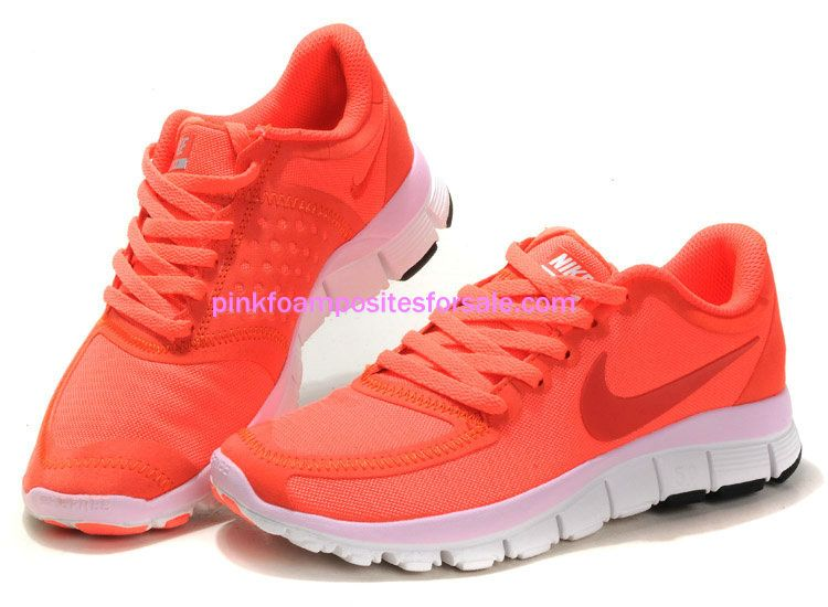 best service b8fc8 4120a Hot  Pink  Nikes Neon Punch Nike Free 5.0 V4 Hot Pink Nikes Neon Punch Pink  White 511281 606  sports