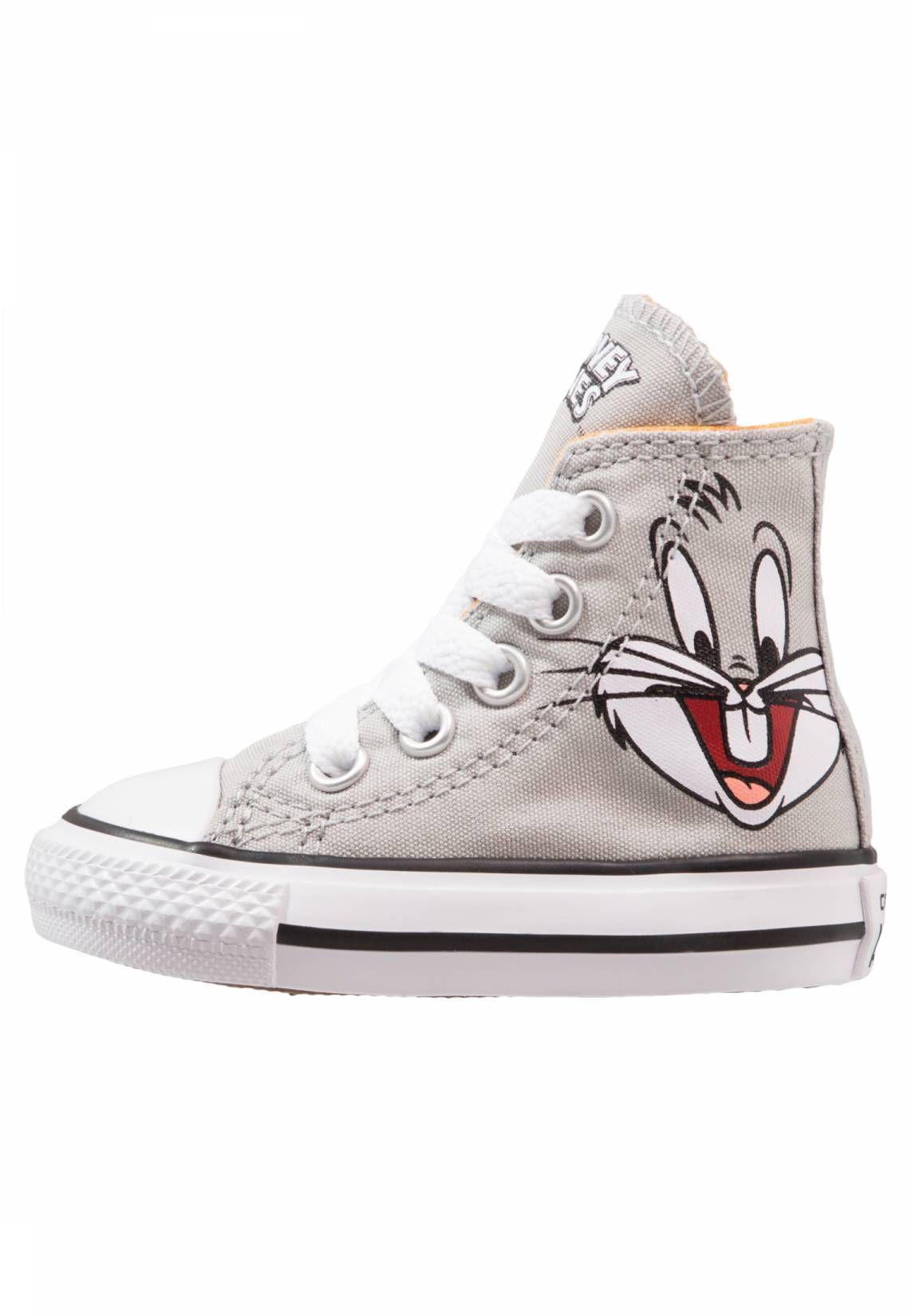 champú herida Dinámica  Converse. CHUCK TAYLOR - BUGS BUNNY - Zapatillas altas - bugs grey ...