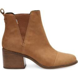 Photo of Toms Damen Schuhe Braun Leder Esme – Größe 38.5 Toms
